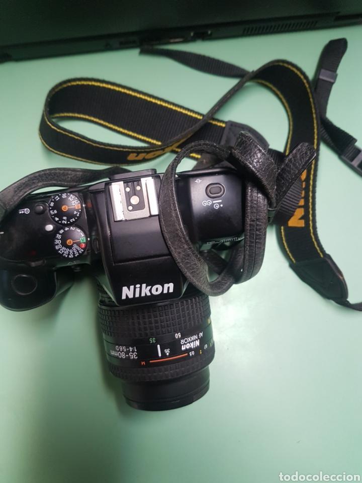 Cámara de fotos: Cámara Nikon F 401x con zoom 35-80 mm - Foto 2 - 182826263