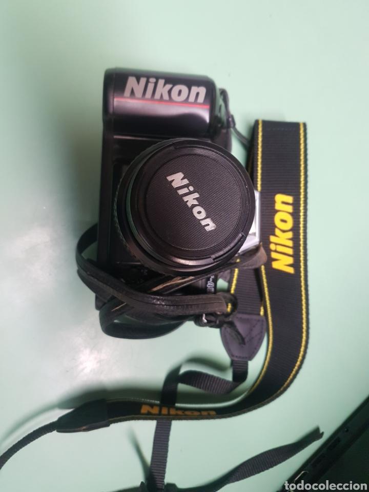 Cámara de fotos: Cámara Nikon F 401x con zoom 35-80 mm - Foto 3 - 182826263