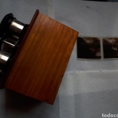 Cámara de fotos: ANTIGUA ESTEROSCOPIA O VISOR CRISTAL DE ( 60X113) M/M. Lote 182850968