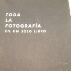 Cámara de fotos: TODA LA FOTOGRAFIA EN UN SOLO LIBRO. Lote 183016443