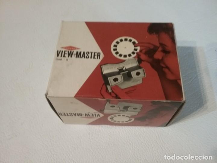 Cámara de fotos: Visor VIEW-MASTER en su caja original - Foto 3 - 183192762