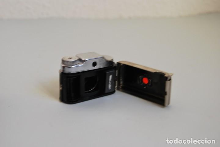Cámara de fotos: CÁMARA FOTOGRÁFICA EN MINIATURA - HIT - MINI CÁMARA DE FOTOS - FUNDA DE CUERO - JAPÓN - Foto 5 - 184053750
