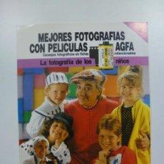 Cámara de fotos: MEJORES FOTOGRAFÍAS CON PELÍCULAS AGFA. Nº 9. CONSEJOS FOTOGRÁFICOS EN FICHAS COLECCIONABLES. . Lote 184093247