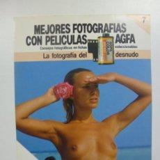 Cámara de fotos: MEJORES FOTOGRAFÍAS CON PELÍCULAS AGFA. Nº 7. CONSEJOS FOTOGRÁFICOS EN FICHAS COLECCIONABLES. . Lote 184093362