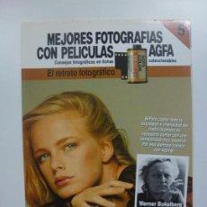 Cámara de fotos: MEJORES FOTOGRAFÍAS CON PELÍCULAS AGFA. Nº 5. CONSEJOS FOTOGRÁFICOS EN FICHAS COLECCIONABLES. . Lote 184093420