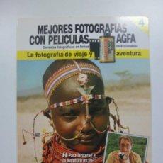 Cámara de fotos: MEJORES FOTOGRAFÍAS CON PELÍCULAS AGFA. Nº 4. CONSEJOS FOTOGRÁFICOS EN FICHAS COLECCIONABLES. . Lote 184093455