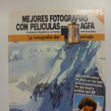 Cámara de fotos: MEJORES FOTOGRAFÍAS CON PELÍCULAS AGFA. Nº 1. CONSEJOS FOTOGRÁFICOS EN FICHAS COLECCIONABLES. . Lote 184093565