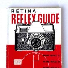 Cámara de fotos: *C1970* • GUÍA FOCAL PRESS KODAK RETINA RÉFLEX (5ª ED.) 54 PÁGS.. Lote 184225450