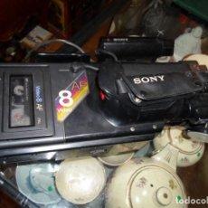 Cámara de fotos: VIDEO CÁMARA SONY CCD 8 AF AUTO FOCUS PARA REPARAR O PIEZAS . Lote 184560326