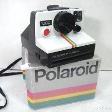 Cámara de fotos: CAMARA FOTOS INSTANTANEA - POLAROID1000 AÑO 1977+ CAJA - LAND CAMERA-BOTON ROJO. Lote 184571680