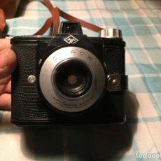 Cámara de fotos: ANTIGUA CAMARA DE FOTOS / FOTIGRAFICA MARCA AGFA CLACK AÑOS 50 CON FUNDA . Lote 184578260