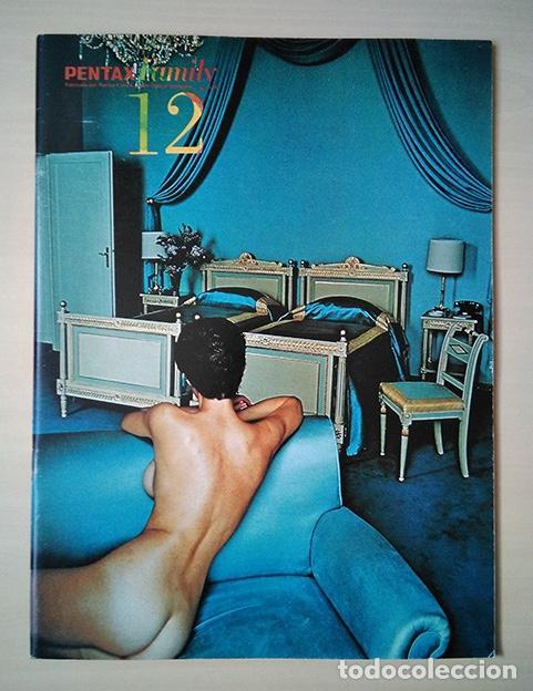 PENTAX FAMILY 12. PORTADA HELMUT NEWTON. SHER JANG SINGH, TREVERN DAWES… 1977 (Cámaras Fotográficas - Catálogos, Manuales y Publicidad)