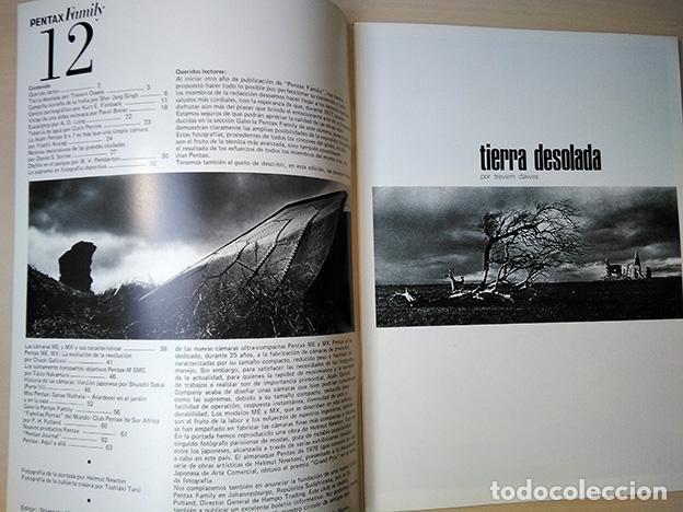 Cámara de fotos: Pentax Family 12. Portada Helmut Newton. Sher Jang Singh, Trevern Dawes… 1977 - Foto 2 - 184586190