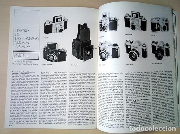 Cámara de fotos: Pentax Family 12. Portada Helmut Newton. Sher Jang Singh, Trevern Dawes… 1977 - Foto 9 - 184586190