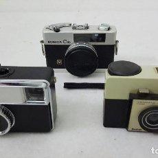 Cámara de fotos: DOS CAMARAS KODAK Y KONICA C35. Lote 184631056