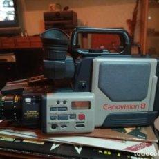 Cámara de fotos: CAMARA VIDEO CANON. CANOVISIÓN VM E1. CON FUNDA ORIGINAL CANON . Lote 184749272