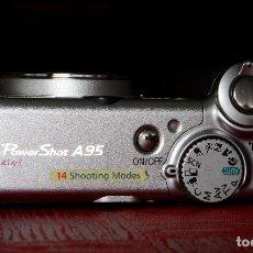 Cámara de fotos: CÁMARA DIGITAL CANON POWERSHOT A 95 A95. Lote 184759512