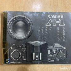 Cámara de fotos: MANUAL INSTRUCCIONES CANON A-1. Lote 185874225