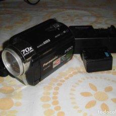 Fotocamere: CÁMARA DE VIDEO Y FOTOS PANASONIC SDR-H80, HDD. EN MUY BUEN ESTADO. FUNCIONA.. Lote 186020821