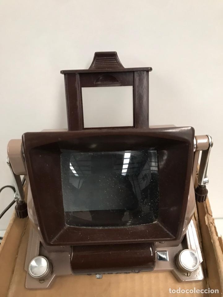 Cámara de fotos: Proyector diapositivas antiguo ROKUWA EDITOR V (NUEVO) - Foto 4 - 186144741