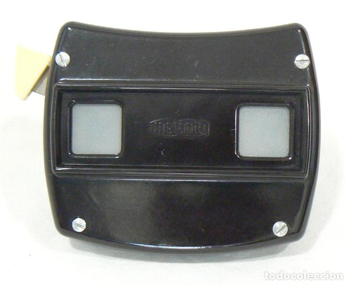 Cámara de fotos: Antiguo Visor VIEW-MASTER Viewmaster MEOPTA Meoskop + 6 discos - Foto 5 - 186349675