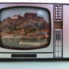 Cámara de fotos: ANTIGUO VISOR DE IMAGENES FORMATO TV-VIRGEN DEL CASTILLO·MONTANCHEZ-(SOUVENIR). Lote 187089855