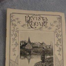 Cámara de fotos: REVISTA KODAK Nº 5 1917.CUBA EASTMAN PARA PLACAS.. Lote 187113617