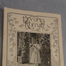 Cámara de fotos: REVISTA KODAK Nº 6. 1917 KODAK ANASTIGMAT F.77. Lote 187114117