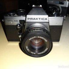 Cámara de fotos: CAMARA PRAKTICA MTL 50 . Lote 187164572