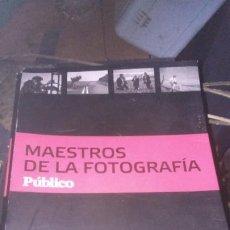 Cámara de fotos: COLECCIÓN MAESTROS DE LA FOTOGRAFÍA PÚBLICO 19 LIBROS. Lote 211771698