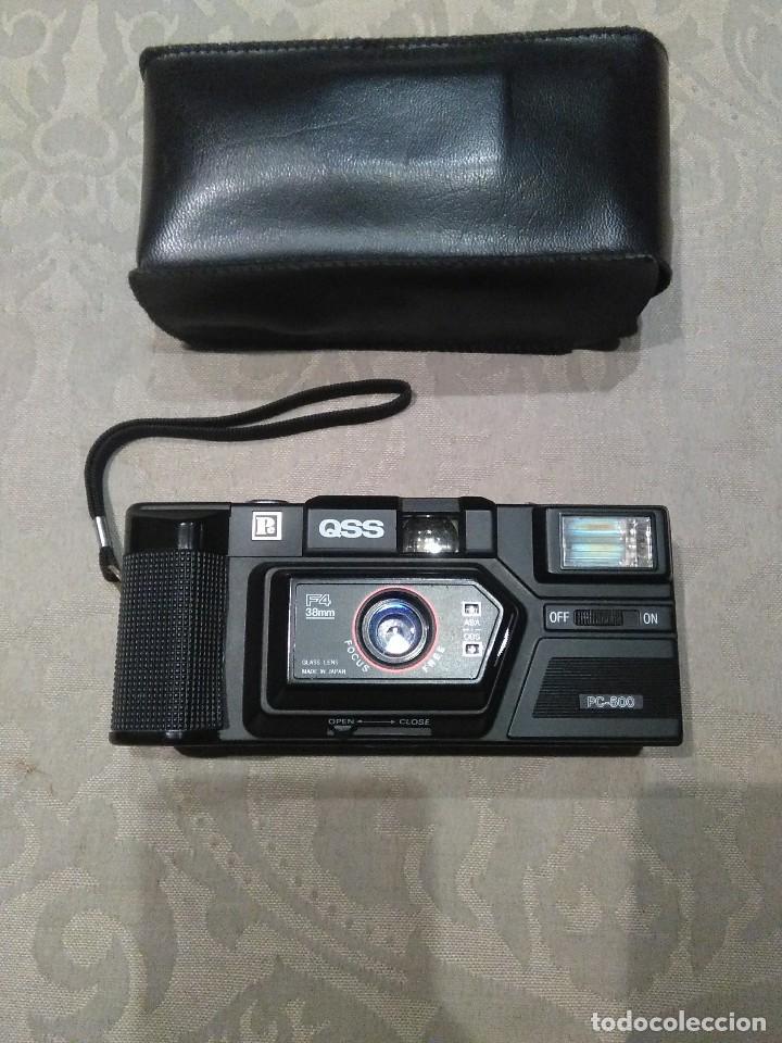 CAMARA FOTOGRAFICA QSS PC-500 MADE IN JAPAN.EXCELENTE ESTADO. (Cámaras Fotográficas - Otras)