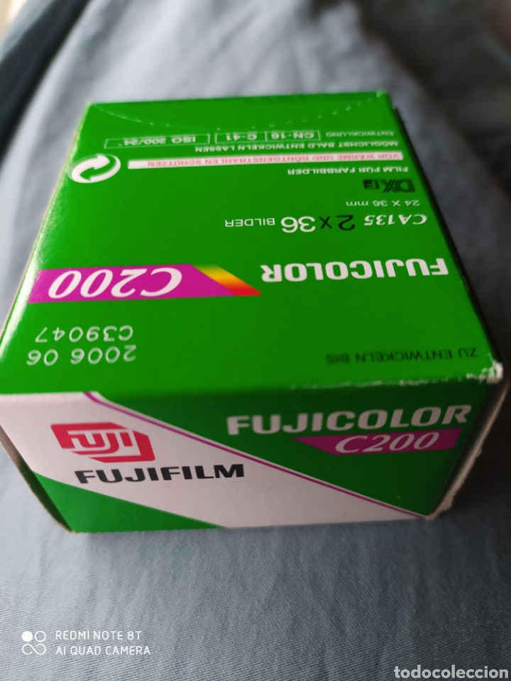 Cámara de fotos: Dos carretes Fujicolor C200 de 36 mm. - Foto 4 - 208684550