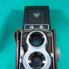 Cámara de fotos: SEAGULL-CAMARA FOTOGRAFICA TIPO ROLLEIFLEX-SHANGHAI-VERDADERA PRIMERA CALIDAD CHINA-RARA AÑOS 60/70.. Lote 189209103