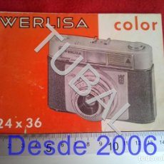 Appareil photos: TUBAL WERLISA COLOR MANUAL 24X36 60 GRS B26. Lote 189640985