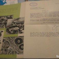 Appareil photos: ANTIGUA CARTA.CAMARAS ZEISS IKON.CARLOS ZIESLERR.REPRESENTANTE.MADRID 1941.BIRBE-ARDEGOL.VENDRELL. Lote 190483232