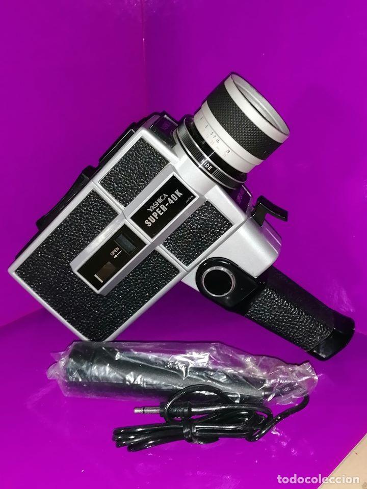 TOMAVISTAS VINTAGE YASHICA SUPER -40 K. (1971) ( VER FOTOS Y DESCRIPCION ) (Cámaras Fotográficas - Otras)