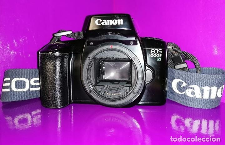 CAMARA CANON REFLEX,ANALOGICA . SIN OBJETIVO . EOS 1000F /1000 N /1000 NQD,(VER FOTOS Y DESCRIPCION (Cámaras Fotográficas - Otras)