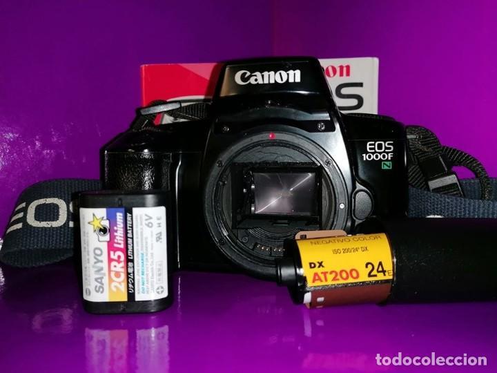 Cámara de fotos: CAMARA CANON REFLEX,ANALOGICA . SIN OBJETIVO . EOS 1000F /1000 N /1000 NQD,(VER FOTOS Y DESCRIPCION - Foto 3 - 190730346