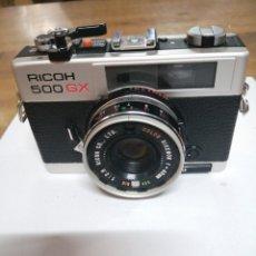 Cámara de fotos: MÁQUINA DE FOTOS RICOH 500 GX. MULTIEXPOSICION.TEMPORIZADOR.FUNCIONA PERFECTO. BATERÍA NUEVA.1975.. Lote 190741341