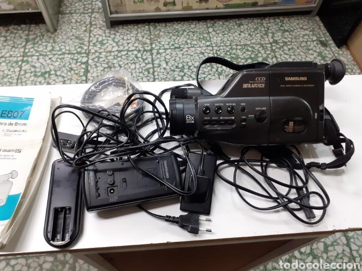 Cámara de fotos: Video cámara Samsung vp-e 807 sin batería envio incluido - Foto 3 - 190888498