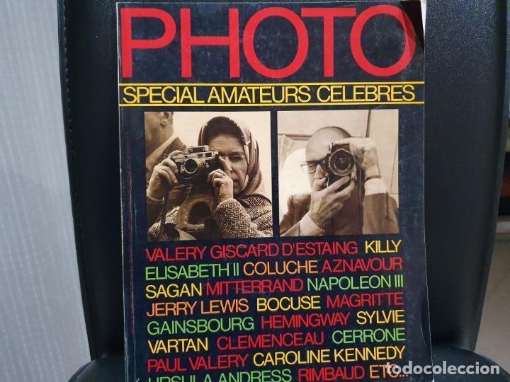 PHOTO MAGAZINE, REVISTA FOTOGRAFIA AÑO 1980, MUY CURIOSA (Cámaras Fotográficas - Catálogos, Manuales y Publicidad)