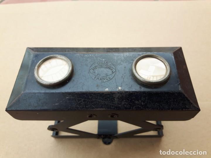 Cámara de fotos: Visor estereoscopico unis france de 45x107 - Foto 2 - 192072955