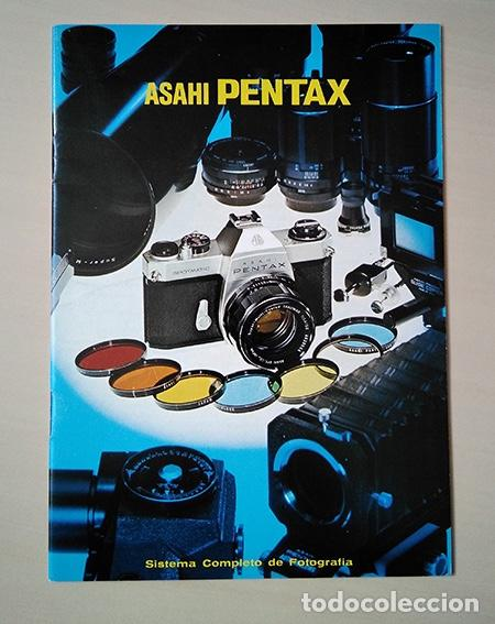 FOLLETO ASAHI PENTAX SISTEMA SPOTMATIC 1970. IDIOMA ESPAÑOL. 18 X 13 CM. 24 PÁGINAS. (Cámaras Fotográficas - Catálogos, Manuales y Publicidad)