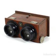Cámara de fotos: VISOR ERNEMANN PARA CRISTALES POSITIVOS 10 X 4 CM. EN BUEN ESTADO. Lote 192365380