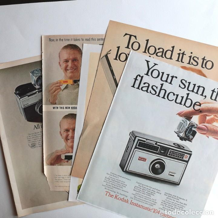 CÁMARA KODAK INSTAMATIC. - PUBLICIDAD (Cámaras Fotográficas - Catálogos, Manuales y Publicidad)