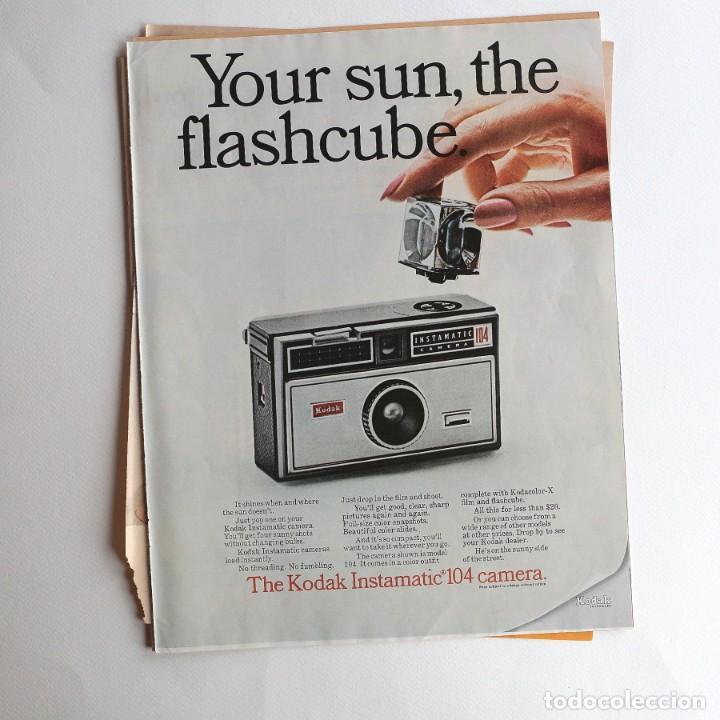 Cámara de fotos: cámara Kodak Instamatic. - publicidad - Foto 2 - 193378842