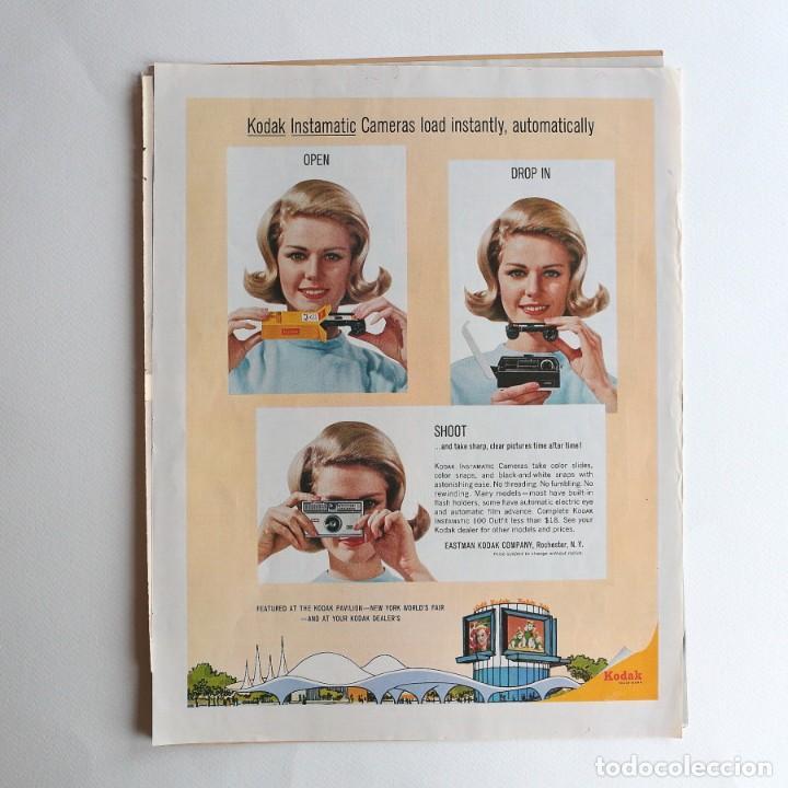Cámara de fotos: cámara Kodak Instamatic. - publicidad - Foto 3 - 193378842