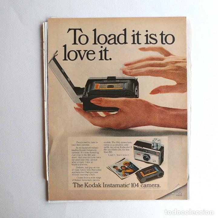 Cámara de fotos: cámara Kodak Instamatic. - publicidad - Foto 4 - 193378842