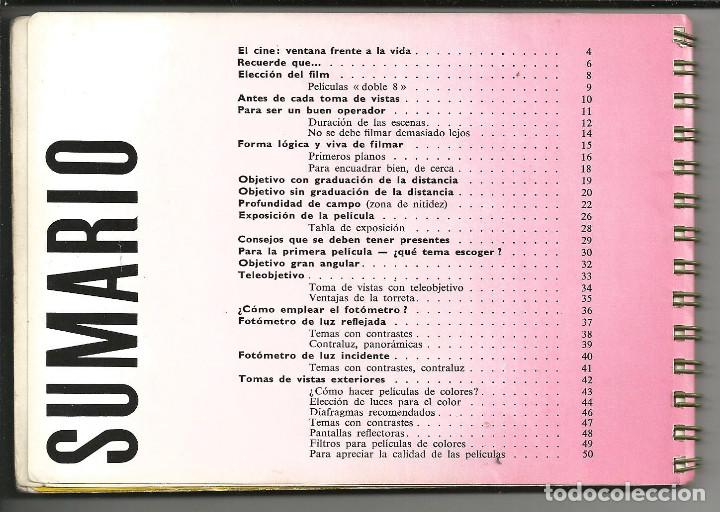 Cámara de fotos: CINE MANUAL, BOLEX-PAILLARD, 8 MM ( AÑO 1957) - Foto 2 - 193447705