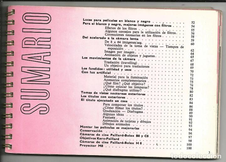 Cámara de fotos: CINE MANUAL, BOLEX-PAILLARD, 8 MM ( AÑO 1957) - Foto 3 - 193447705